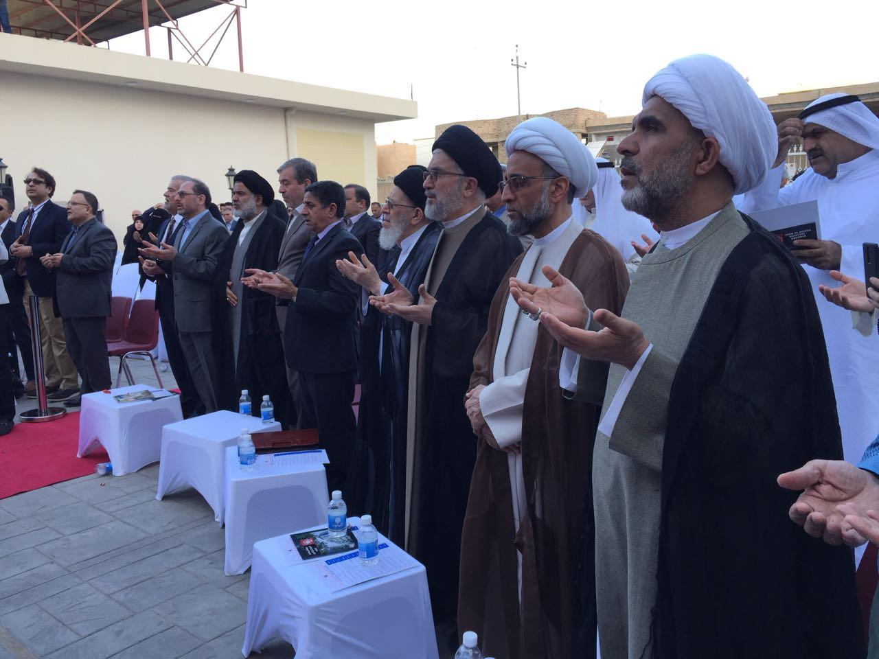 حفل افتتاح مستشفى الامام الحجة